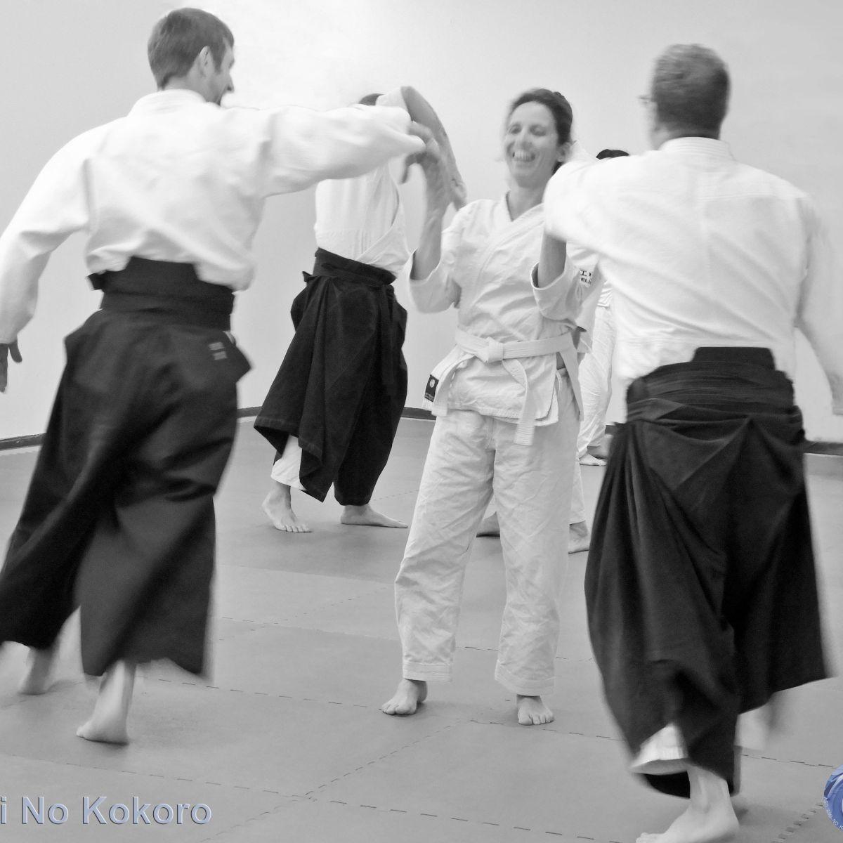 praticare Aikido con gioia - Aiki No Kokoro scuola di Aikido