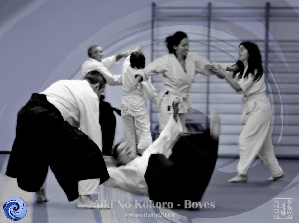 Jyu waza - Espressione libera - Aikido a Boves